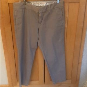 J.Crew Broken-In Scout Chino City Fit Size 8